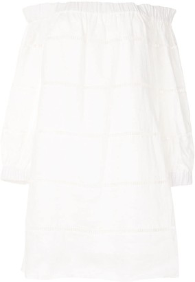 A.L.C. Hartmann off-shoulder mini dress