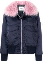 Dondup Fur Bomber Jacket