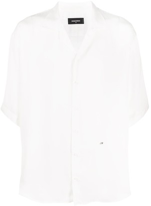 DSQUARED2 Loose-Fit Short-Sleeved Shirt