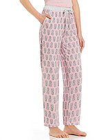 Karen Neuburger Pineapple-Print Pajama Pants