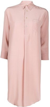 Blanca Vita Aida silk shirt dress