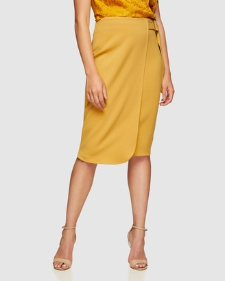 Oxford Daphne Stretch Skirt