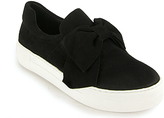 J/Slides - Beauty - Suede Bow Sneaker