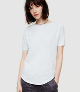 Lou & Grey Airy Cotton Boatneck Tee