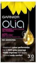 Garnier Olia 3.0 Soft Black Permanent Hair Dye