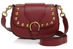 Marc Jacobs Navigator Studded Small Leather Saddle Bag