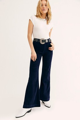 ROLLA'S East Coast Wide-Wale Cord Flare Jeans