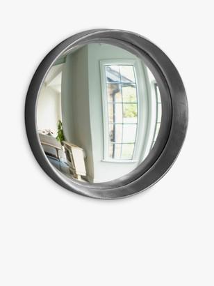Unbranded Matanzas Round Wood Frame Mirror