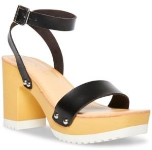 Madden-Girl Caprise Wooden Platform Sandals