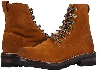 Frye Ella Hiker (Wheat Oiled Suede) Women's Boots