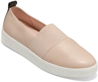 Cole Haan Grand Crosscourt Strap Leather Slip-On