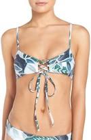 Mara Hoffman Women's Lace-Up Bikini Top