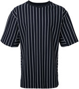 Juun.J striped T-shirt - men - Cotton - 46