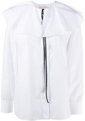 Alexandre Vauthier Ruffled-Collar Shirt