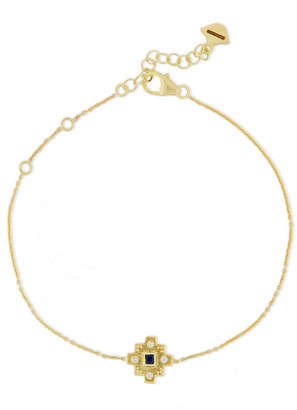 Amrapali 18-karat Gold, Diamond And Sapphire Bracelet