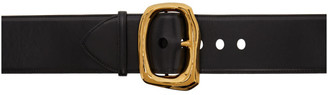 Alexander McQueen Gold Molten Metal Belt