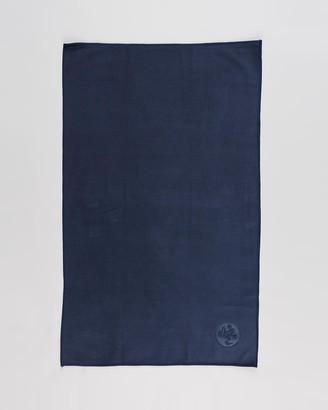 Manduka Blue Gym Towels - eQua Hand Towel - Size One Size at The Iconic