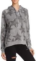 Vintage Havana Star Print Lace-Up Sweatshirt