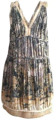 Bally Multicolour Silk Dress for Women