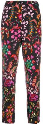 Etro Bohemian Print Slim-Fit Trousers