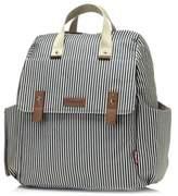 BabymelTM Robyn Convertible Diaper Bag in Navy Stripe