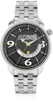 Just Cavalli Earth -Black Dial Date Watch