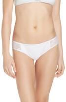 Red Carter Women's Mesh Bikini Bottoms