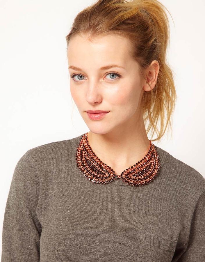 Krystal Collar Bib Necklace