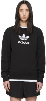 adidas Black Adicolor Mock Neck Sweatshirt