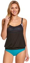 Next Women's Perfect Alignment Double Up Tankini Top (DCup) - 8149241