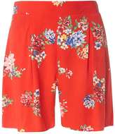 Dorothy Perkins Red Floral Shorts