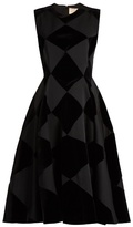 Roksanda Avildsen diamond-check dress