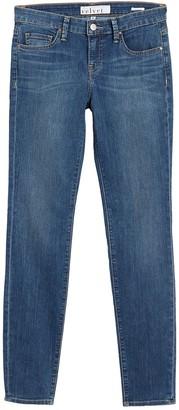 Velvet by Graham & Spencer Low Rise Skinny Jeans