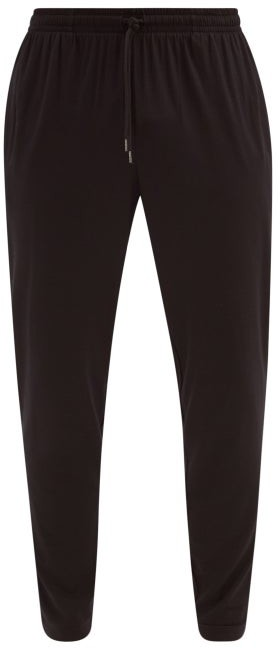 Derek Rose Basel Micromodal-blend Jersey Track Pants - Black
