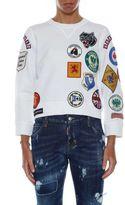 DSQUARED2 Canada Fit Patche Sweatshirt