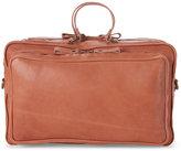 Corsia Natural Leather Top Handle Satchel