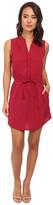 Brigitte Bailey Sleeveless Wrap Dress