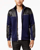 INC International Concepts I.n.c. Men's Mixed-Media Faux Fur Lined Bomber Jacket, Created for Macy's