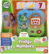 Leapfrog Fridge Numbers Magnetic Set