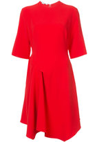 Stella McCartney drape detail dress - women - Spandex/Elastane/Acetate/Viscose - 38
