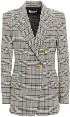 A.L.C. Sedgwick Ii Double-breasted Prince Of Wales Checked Woven Blazer