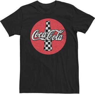Men's Coca-Cola Checkered Tee
