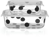 Lenox kate spade new york All in Good Taste Deco Dot Rectangular Food Storage Container Set