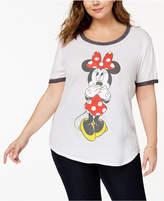 Hybrid Plus Size Minnie Mouse T-Shirt