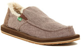 Sanuk Vagabond Faux Fur Lined Chill Slip-On (Men)