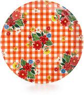 Certified International Frida Orange Melamine Dinner Plate