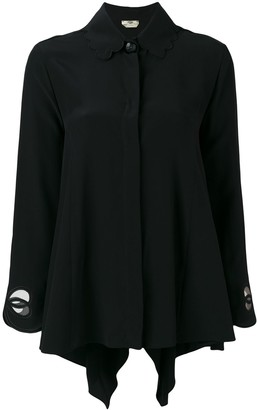 Fendi Cut Out Shirt