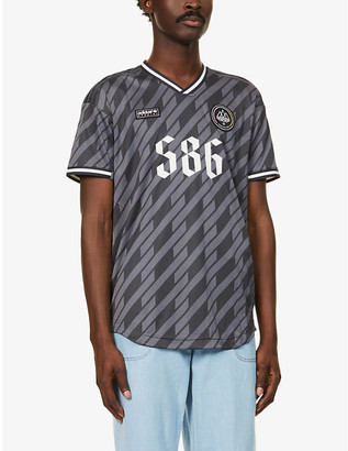 Adidas Statement SPEZIAL graphic-print recycled polyester-blend T-shirt