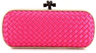 Bottega Veneta Pre-Owned Knot Intrecciato clutch bag