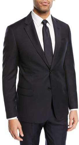 Emporio Armani Super 130s Wool Two-Piece Suit